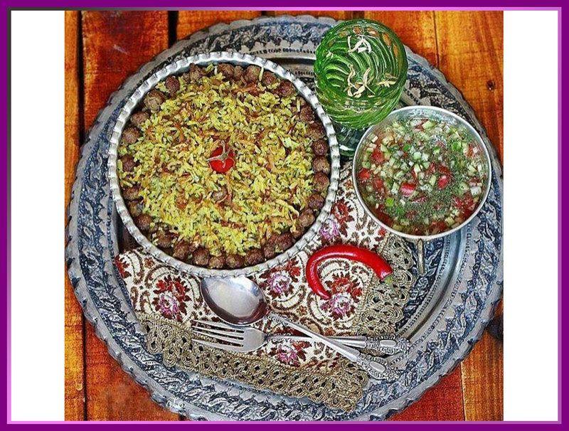 کلم پلو شیرازی از غذاهای معروف شیراز