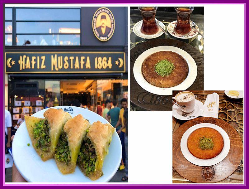 رستوران حافظ مصطفی در ترکیه