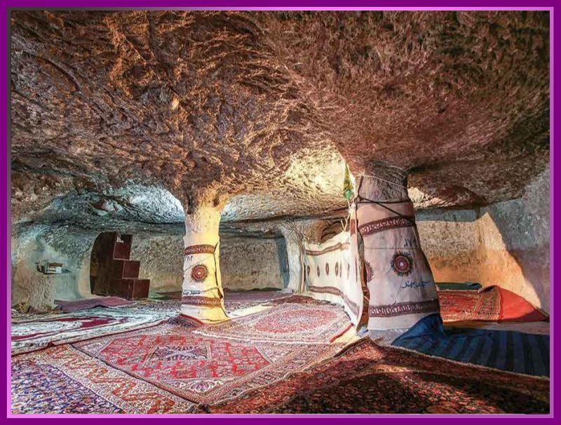 داخل خانه های روستای میمند کرمان