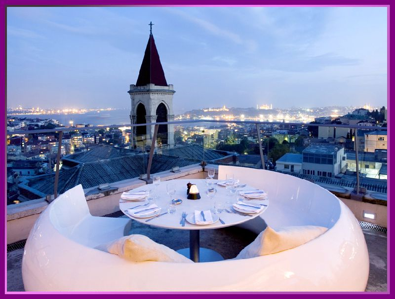 رستوران 360 استانبول
