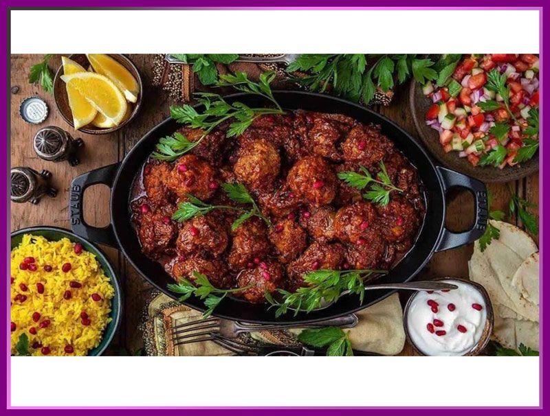 کوفته هلو شیرازی از غذاهای سنتی شیراز