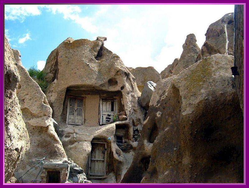 روستای کندوان آذربایجان